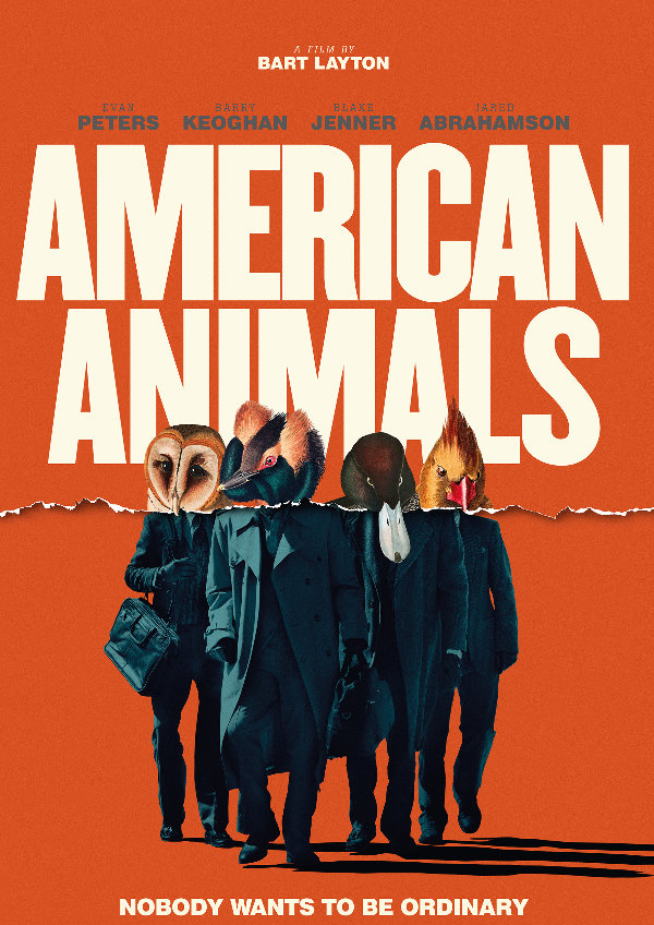'American Animals' movie poster
