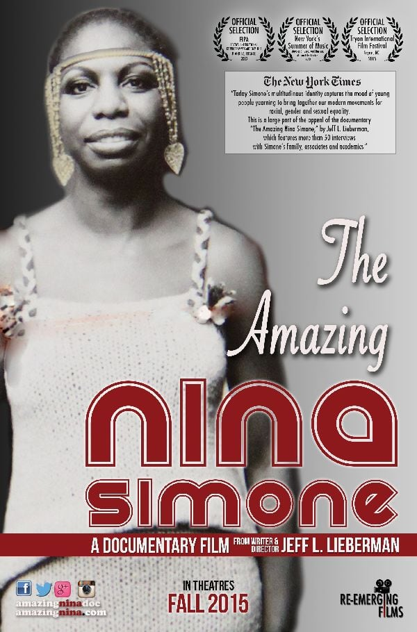 'The Amazing Nina Simone' movie poster