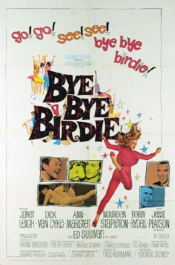 'Bye Bye Birdie' movie poster