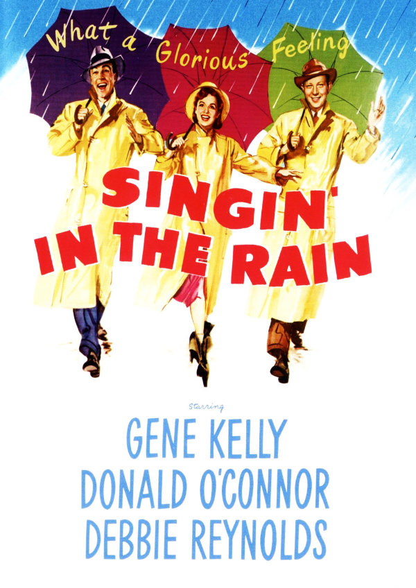 'Singin' in the Rain' movie poster