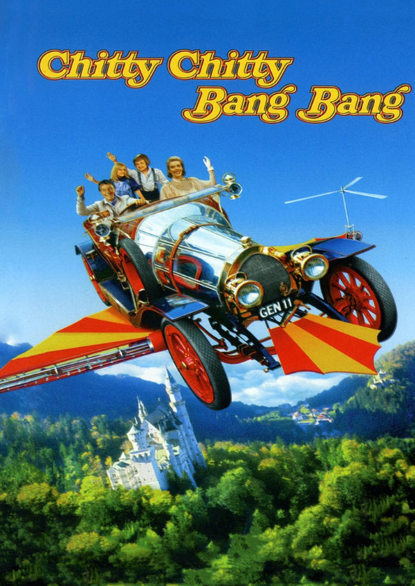 'Chitty Chitty Bang Bang' movie poster