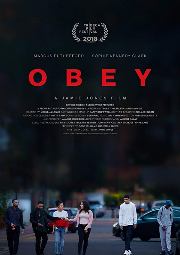 'Obey' movie poster