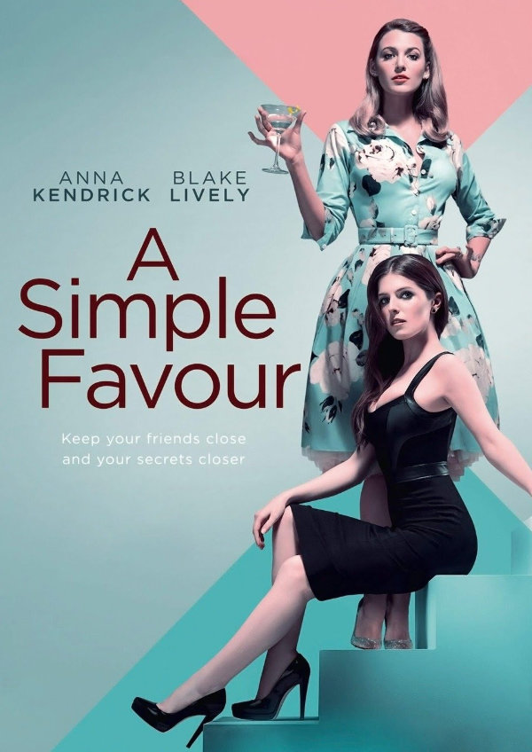 'A Simple Favour' movie poster