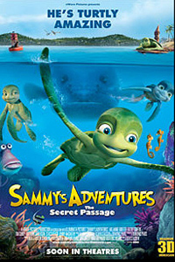'A Turtle's Tale: Sammy's Adventures' movie poster