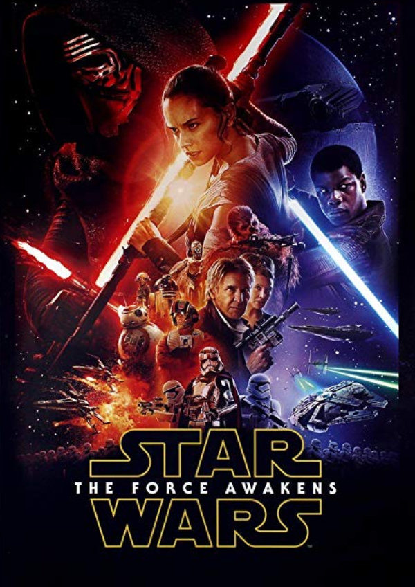 'Star Wars: The Force Awakens' movie poster