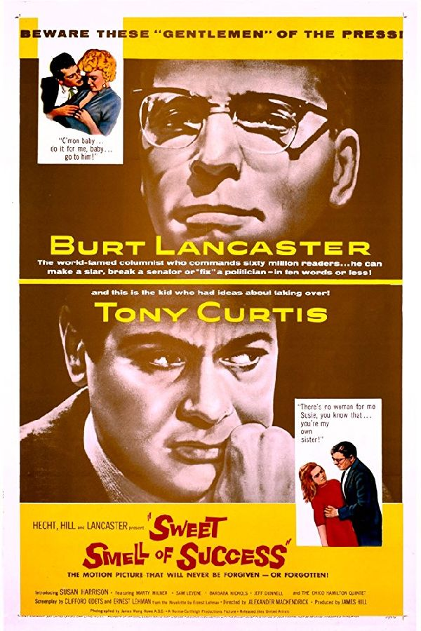 'Sweet Smell of Success' movie poster