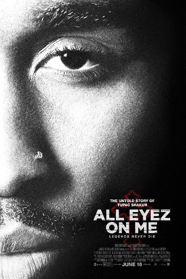 'All Eyez on Me' movie poster
