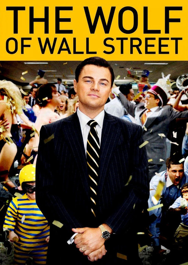 'The Wolf of Wall Street' movie poster