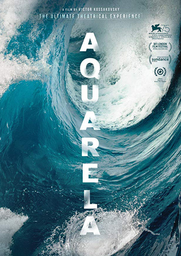'Aquarela' movie poster
