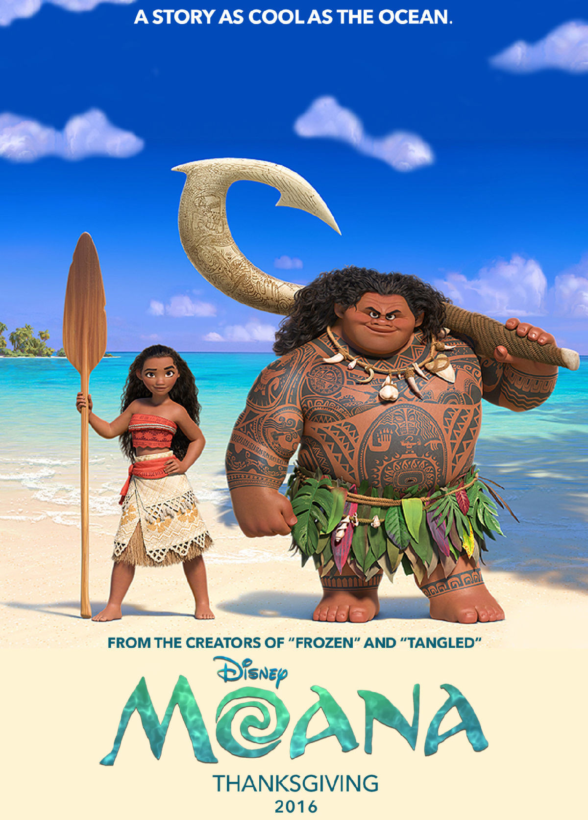 'Moana Sing-Along' movie poster