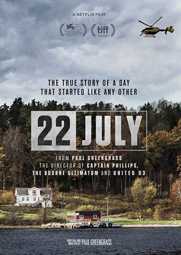 '22 July' movie poster