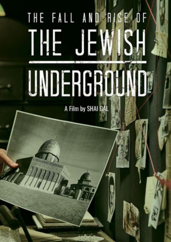 'The Jewish Underground' movie poster