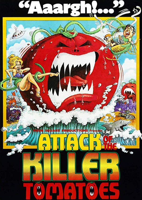 'Attack Of The Killer Tomatoes' movie poster