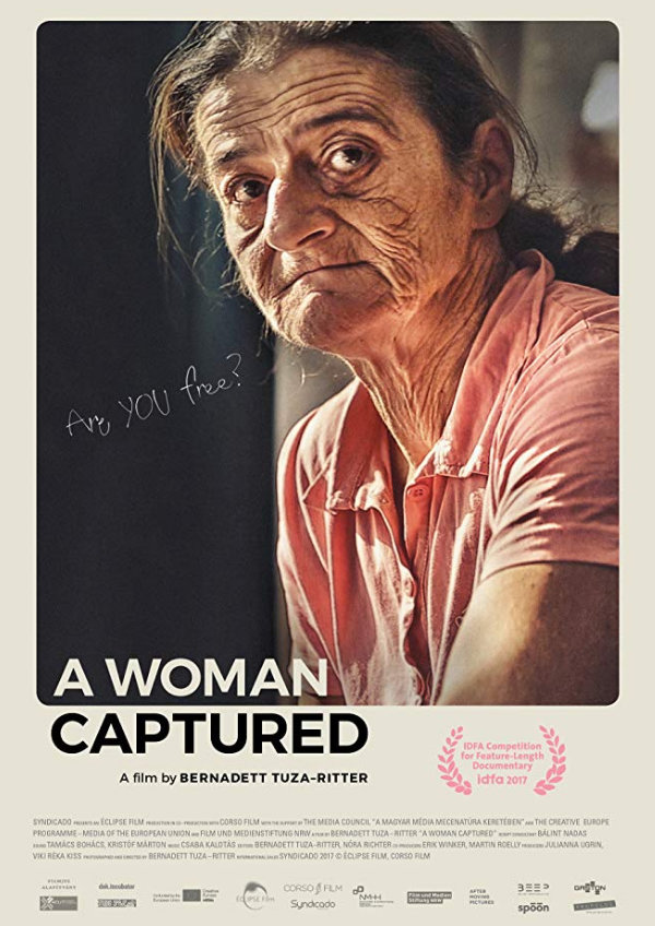 'A Woman Captured' movie poster