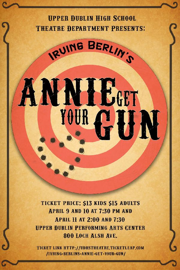 'Annie Get Your Gun' movie poster