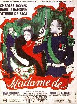 Madame De showtimes