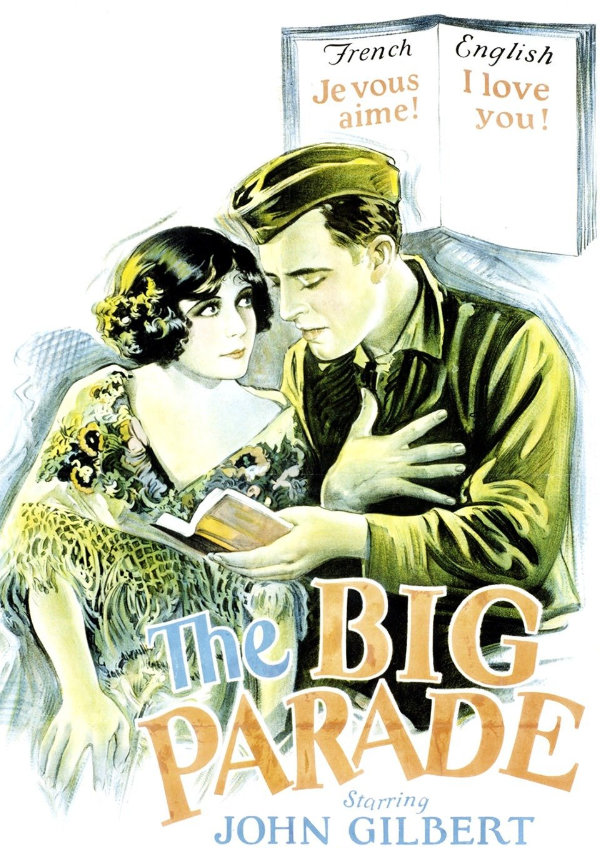 'The Big Parade' movie poster