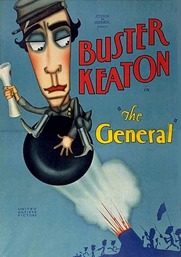 'The General' movie poster