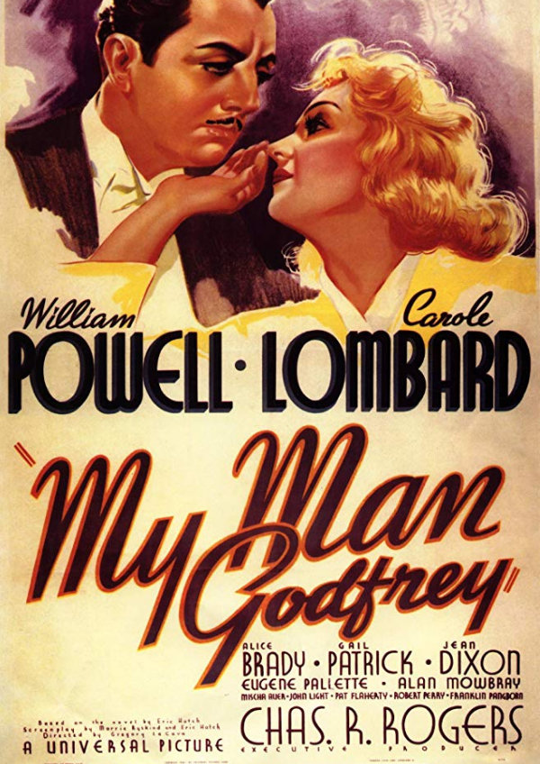'My Man Godfrey' movie poster
