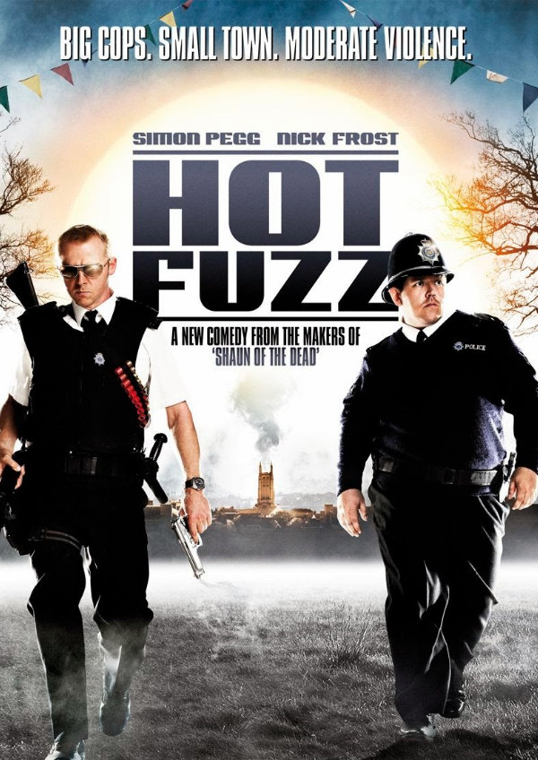 'Hot Fuzz' movie poster