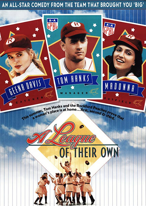 'A League of Their Own' movie poster