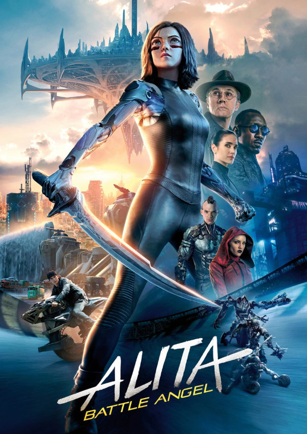 'Alita: Battle Angel' movie poster