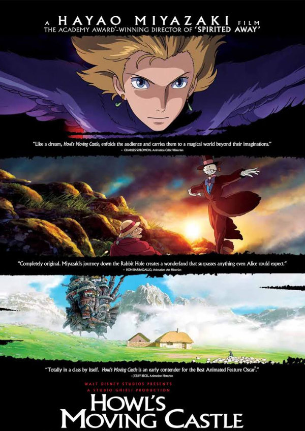 'Howl's Moving Castle' movie poster