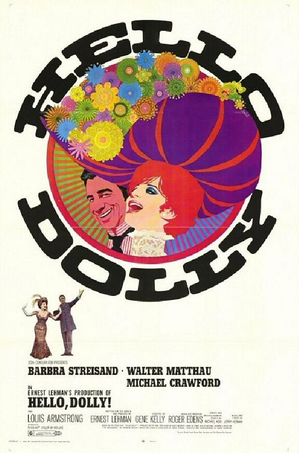 'Hello, Dolly! (1969)' movie poster