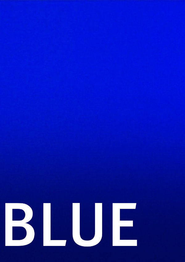 'Blue' movie poster