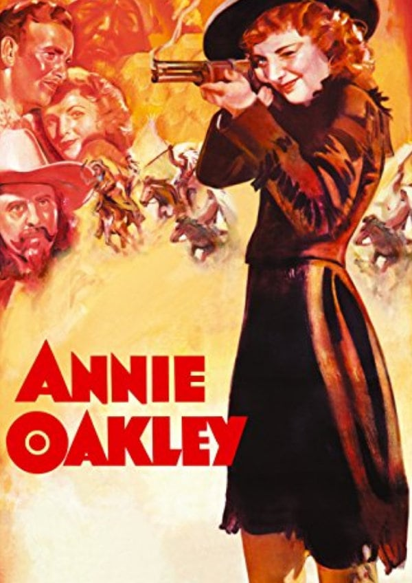 'Annie Oakley' movie poster