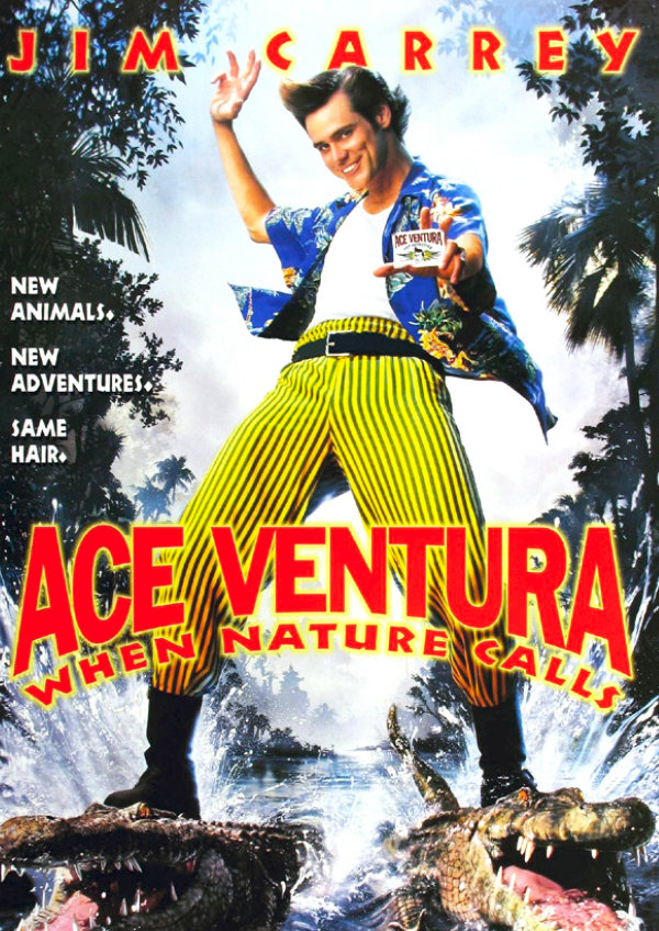 'Ace Ventura: When Nature Calls' movie poster