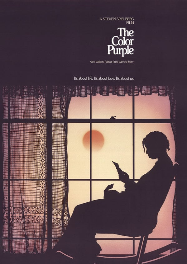 'The Color Purple' movie poster