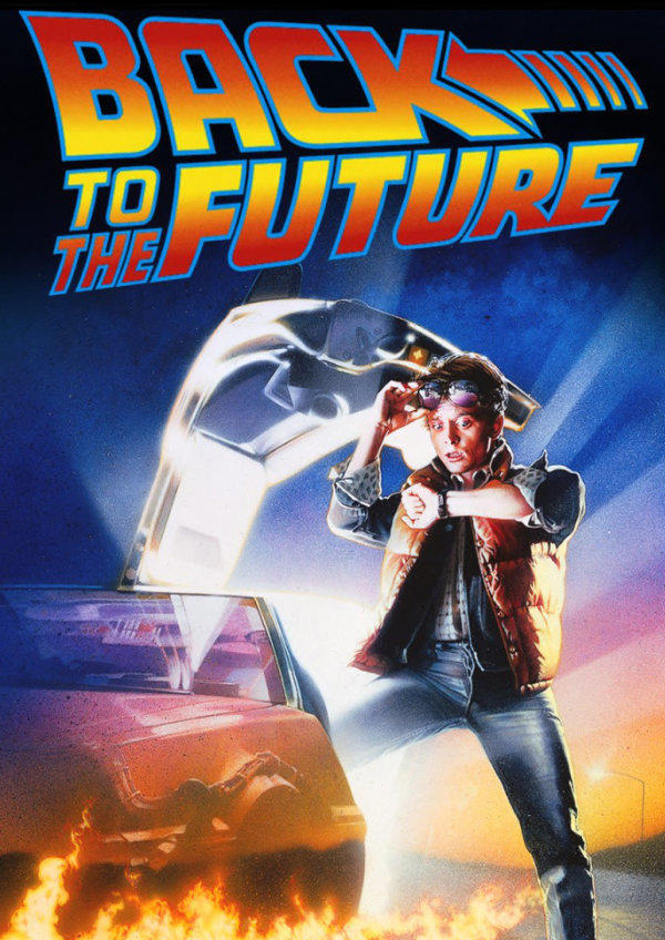 'Back to The Future' movie poster