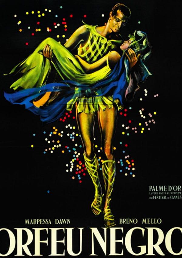 'Black Orpheus (Orfeu Negro)' movie poster