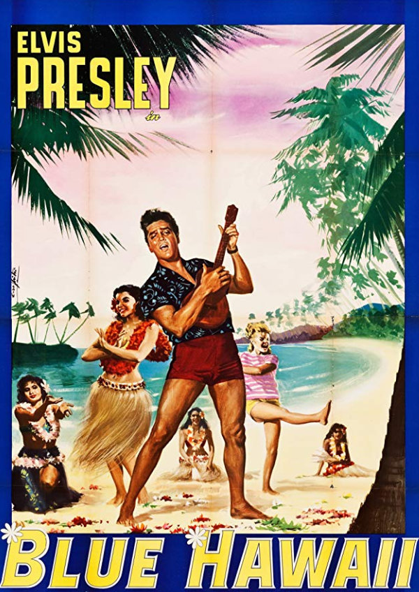 'Blue Hawaii' movie poster