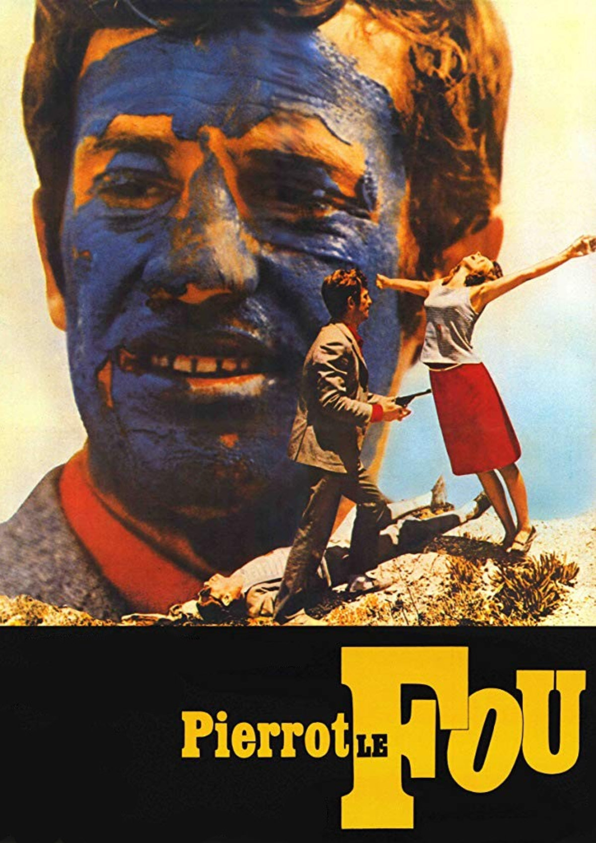 'Pierrot Le Fou' movie poster