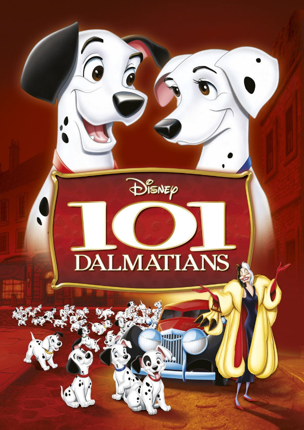 '101 Dalmatians (1961)' movie poster