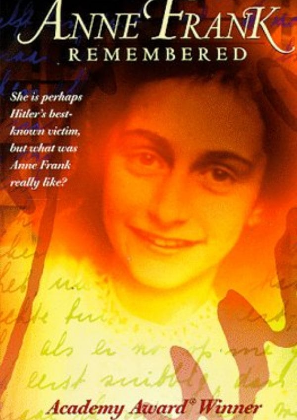 'Anne Frank Remembered' movie poster
