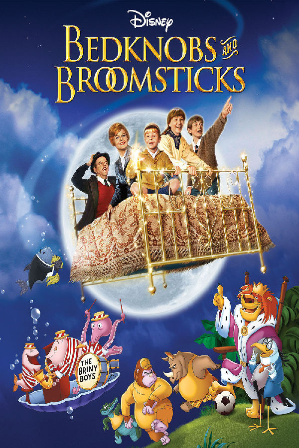 'Bedknobs And Broomsticks' movie poster
