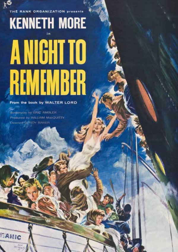 'A Night To Remember' movie poster