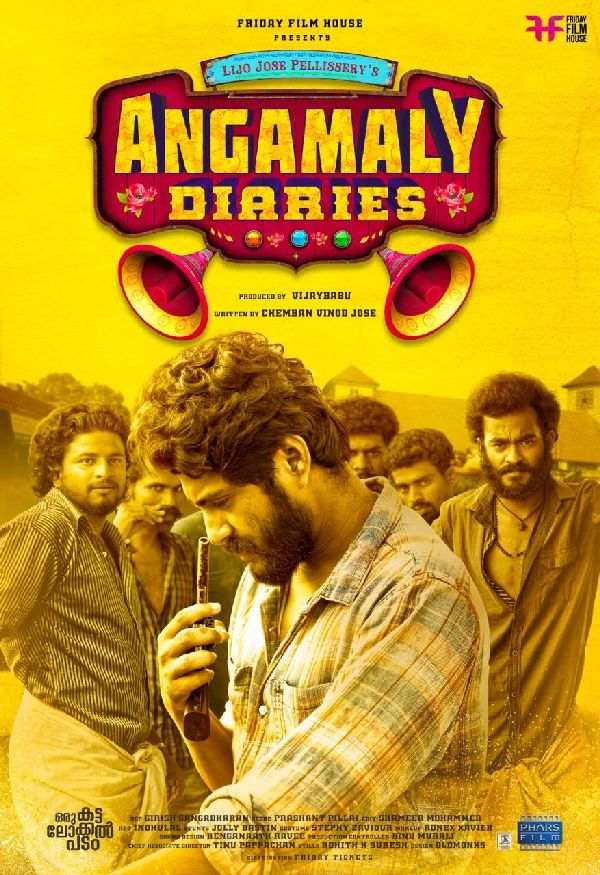 'Angamaly Diaries' movie poster