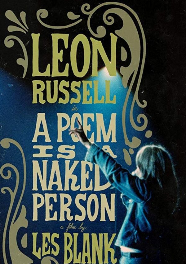 'A Poem Is A Naked Person' movie poster