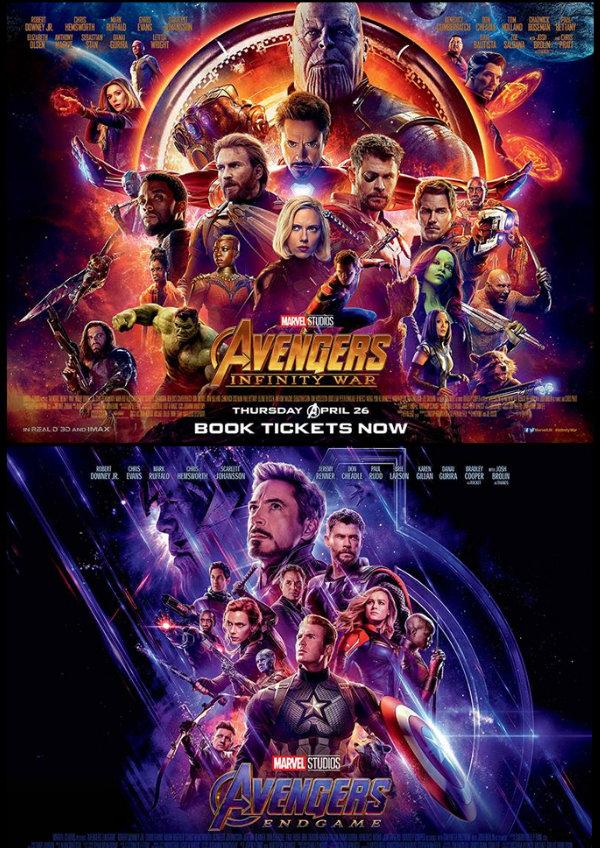 Avengers Infinity War Avengers Endgame Showtimes