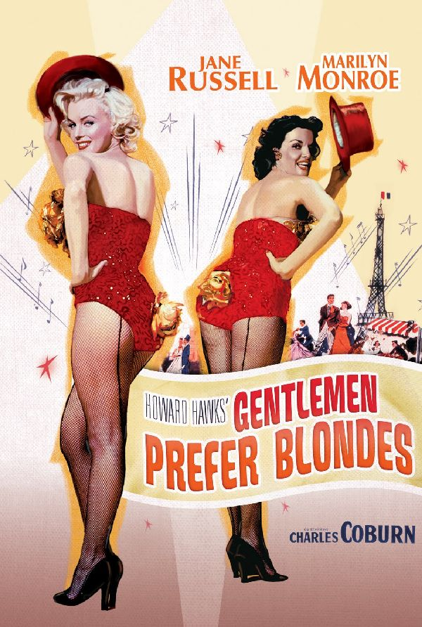 'Gentlemen Prefer Blondes' movie poster