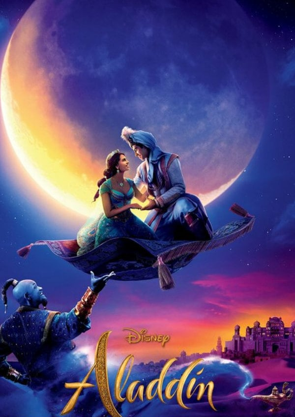 'Aladdin (2019)' movie poster
