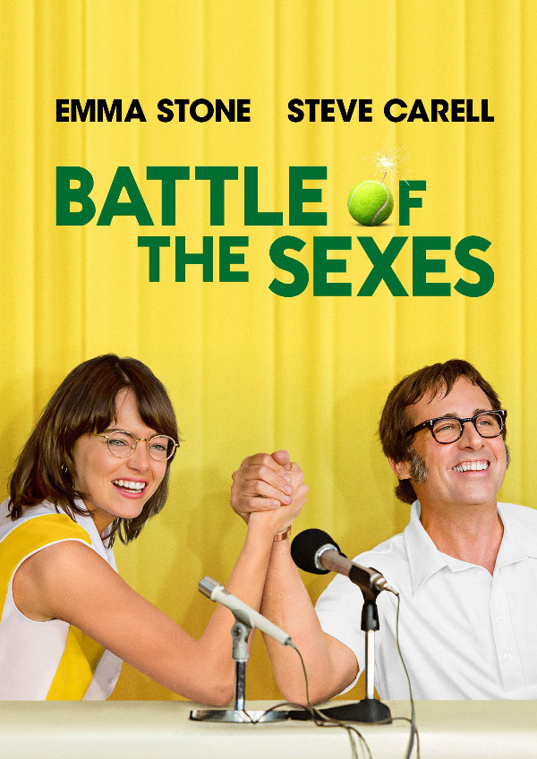 'Battle of the Sexes' movie poster
