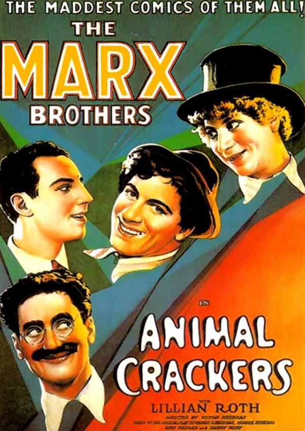 'Animal Crackers' movie poster