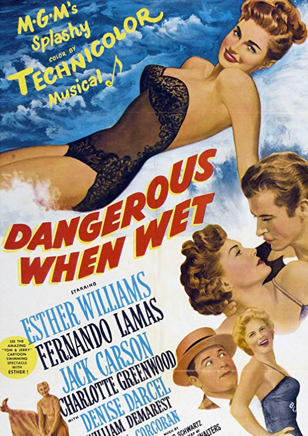 'Dangerous When Wet' movie poster