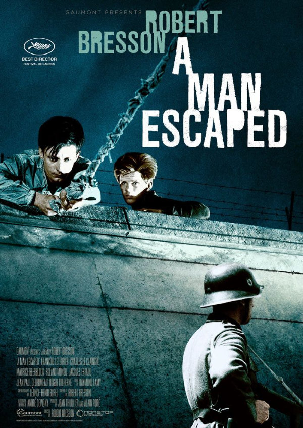 'A Man Escaped' movie poster