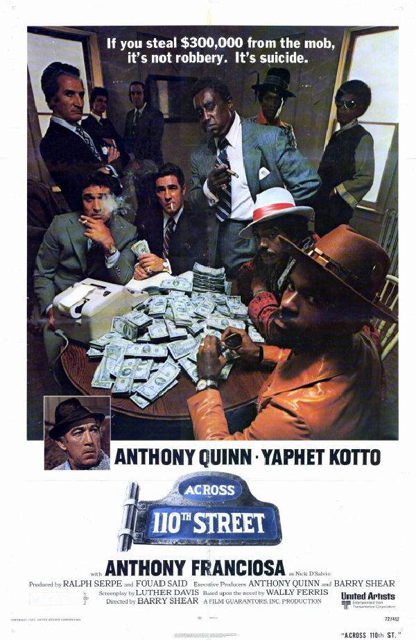'Across 110th Street' movie poster